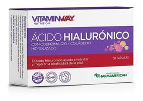 Acido Hialurónico Colageno Y Q10 Antiedad X 30 Cápsulas