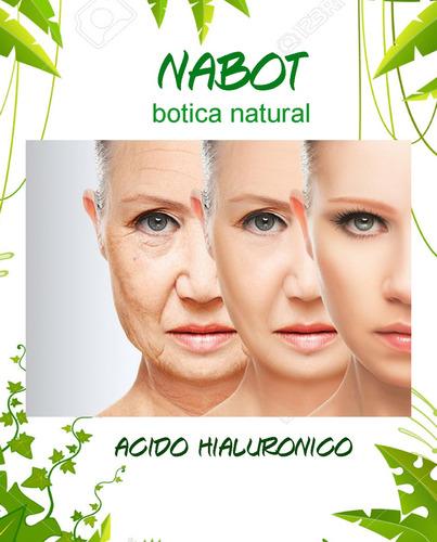 acido hialuronico onza (uso topico) + arcilla blanca 100gr