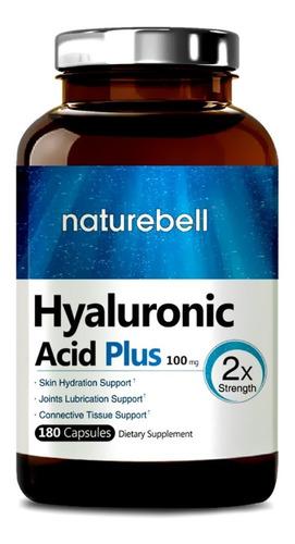 ácido hialuronico plus máxima concentración 180 capsulas