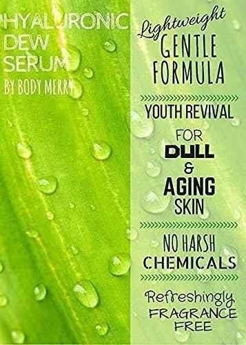 ácido hialurónico suero anti-edad con vitamina c body merry