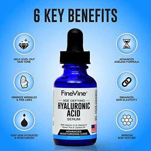 acido hialuronico suero con vitamina c ,e y oxigeno chorrill