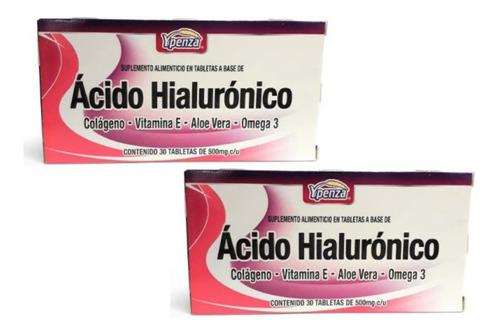 ácido hialurónico ypenza 30 tabletas (2 piezas) envio full