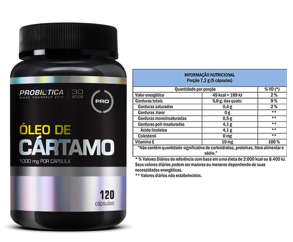 6c075e994 ácido linoleico óleo de cartámo - 120 cápsulas - probiótica. Carregando  zoom.