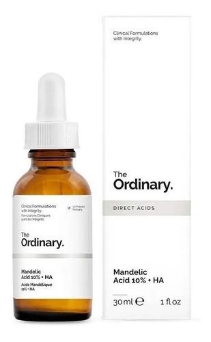 ácido mandelico 10% com  ác.hialuronico - the ordinary
