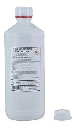 ácido sulfúrico para baterías 1 litro - tr