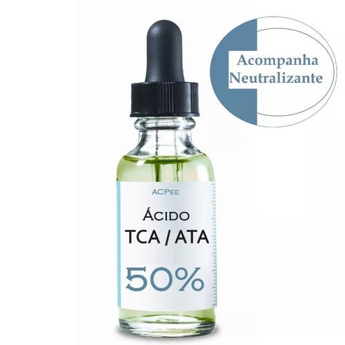 ácido tca / ata 50% tricloroacetico + neutraliza + sabonete