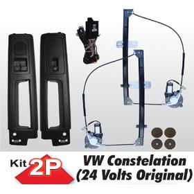 Acionador Vidro Eletrico Caminhao Constellation Original 24v