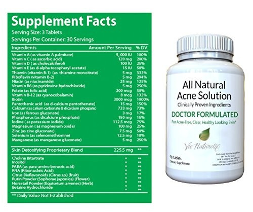 acne treatment supplement: top rated acne pills for women