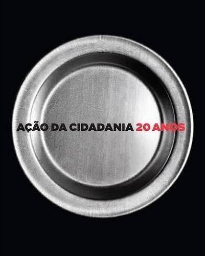ação da cidadania - 20 anos - livro - a. redig & n. rebouças