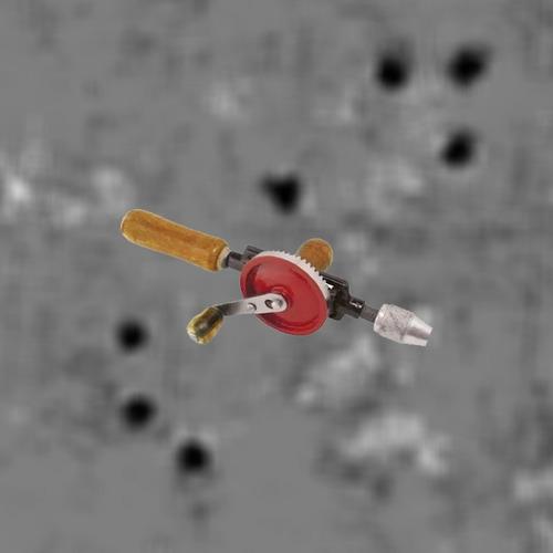 aço furadeira manual ferramenta manivela construção furador