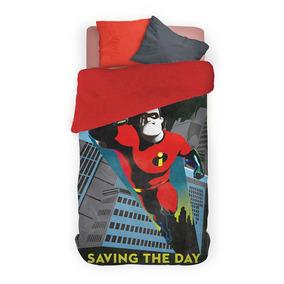 Funda Nordica Spiderman Carrefour.Acolchado Con Corderito 1 1 2 Plazas Pinata Los Increibles 2
