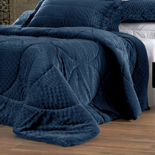acolchado edredon altenburg blend king size 2x2 plush super soft abrigo