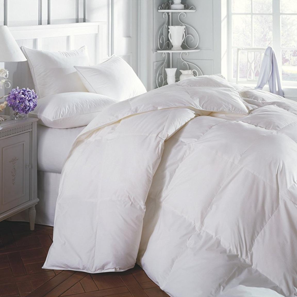 Acolchado Edredon King Size 2x2 100% Plumon Duvet Premium