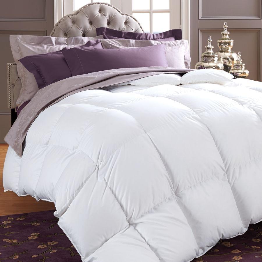 Acolchado Edredon Queen Size 100% Plumon Duvet Premium Lujo
