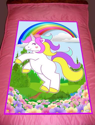 acolchado infantil unicornio