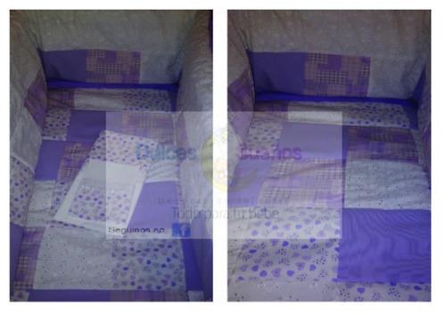 acolchado patch/chichonera patch para cuna/practicuna/moises