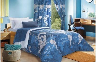 acolchado sabanas y  cortina juveniles-sra sara
