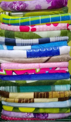 acolchados mantas colchas piel de ganso livianas de 2p  x12u
