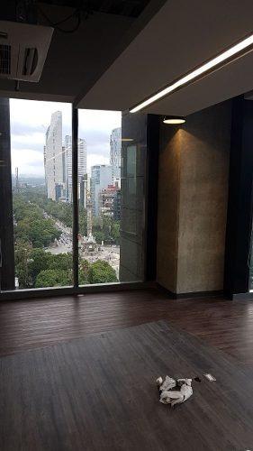 acondicionado 15,000 m  piso 18 al 28 con 1,421 m2 reflatino