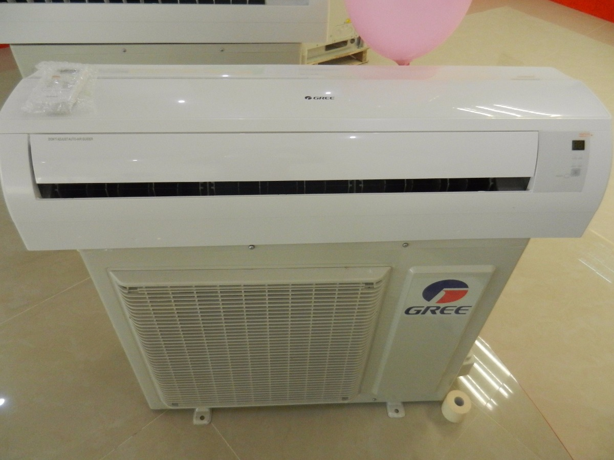 Aire acondicionado minisplit inverter gree 18 000 btus for Consumo de aire acondicionado
