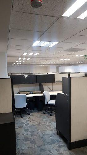 acondicionado, piso 7  al 10  con 610 m2 por planta ins617