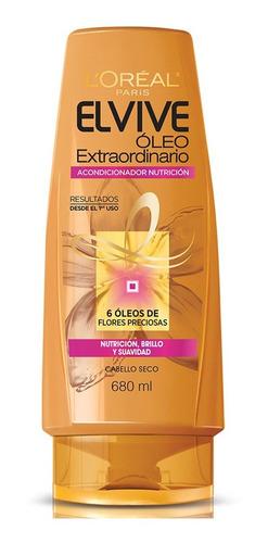 acondicionador cabello dañado óleo elvive l'oréal 680ml