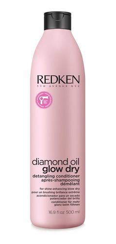 acondicionador cabello seco diamond glow dry 500 ml redken