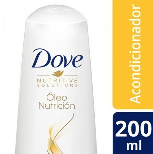 acondicionador dove oleo nutricion 200 ml.