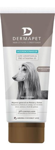 acondicionador p/ mascotas, dermapet,hair styling pomo250ml