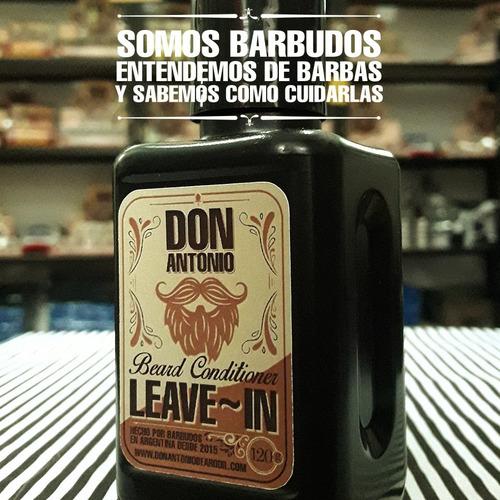acondicionador para barba leave-in don antonio beard oil