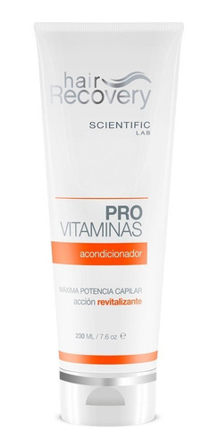acondicionador provitaminas  scientificlab  hair recovery