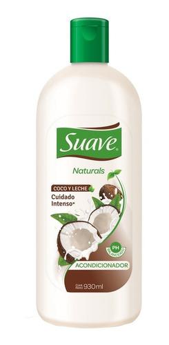 acondicionador suave naturals coco y leche 930ml