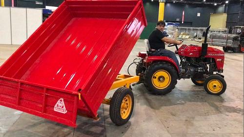 acoplado agricola vehicular roland h1000 volcador hidráulico