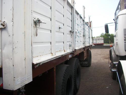 acoplado astivia 3 ejes baranda volcable cerealero 8,70mts