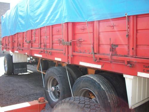 acoplado astivia 92/3 ejes, baranda volcable cerealero 8,50