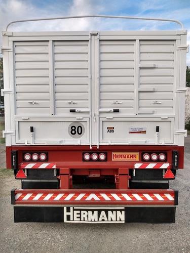 acoplado baranda volcable hermann 4 ejes(anticipo+financ.)