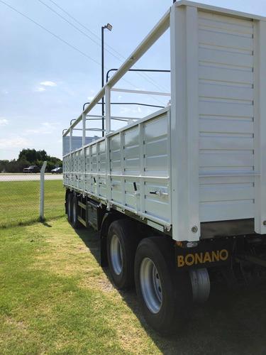 acoplado bonano 4 ejes 0km