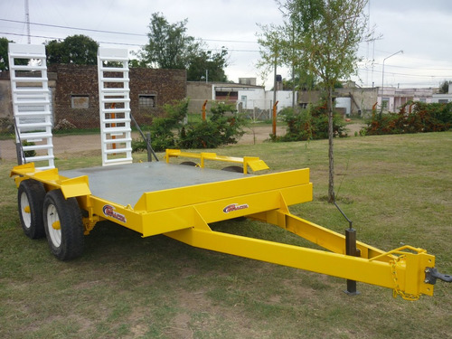 acoplado carreton bobcat palas elevador 4tn financiado