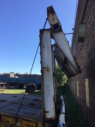 acoplado carreton mancini con rampa hidraulica