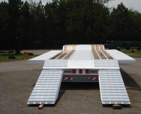 acoplado carretón. (plataforma recta). 3 ejes
