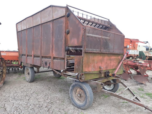 acoplado carro forrajero mainero b370-