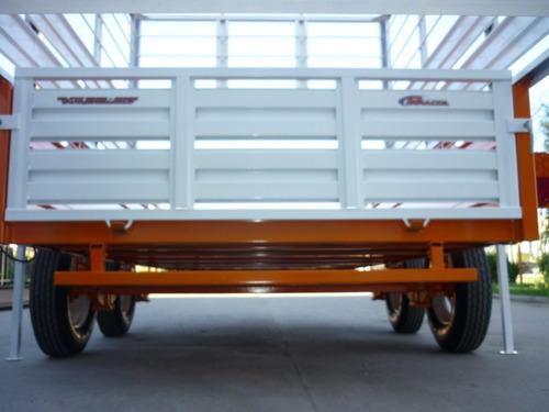 acoplado carro vaquero caballos trailer envíos a domicilio