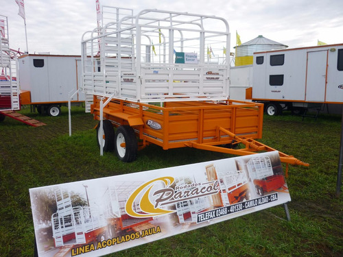 acoplado carro vaquero iva incluido trailer ganadero