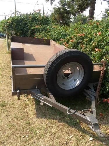acoplado de 1 eje de 4 toneladas
