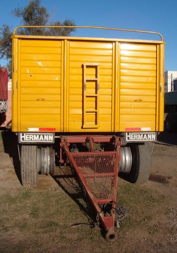 acoplado hermann 2011 baranda volcable anticipo+financiacion
