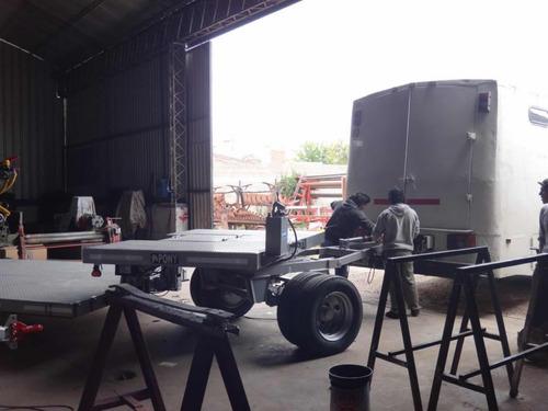 acoplado hidráulico pony 8 toneladas 0km (cn)