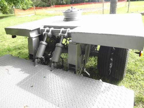 acoplado hidraulico pony 8 toneladas permuto !!