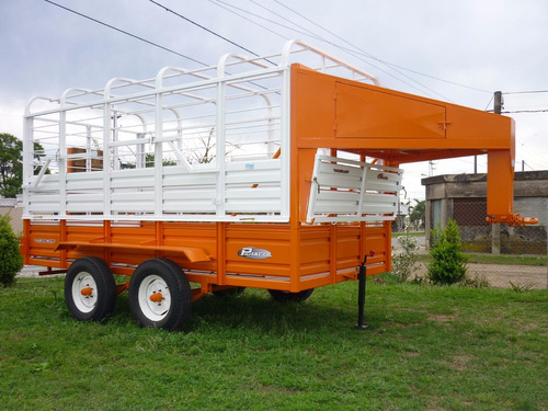 acoplado jaula iva incluido trailer vaquero cigueña