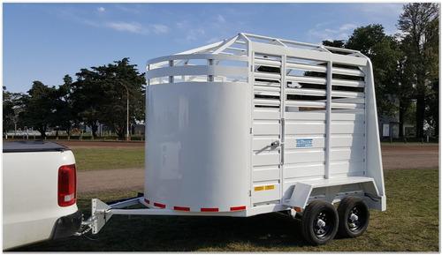 acoplado jaula para caballos (ja1009)