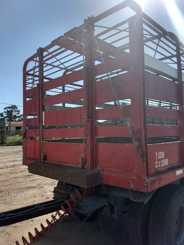 acoplado jaula vaquero hacienda sola y brusa precio anticipo